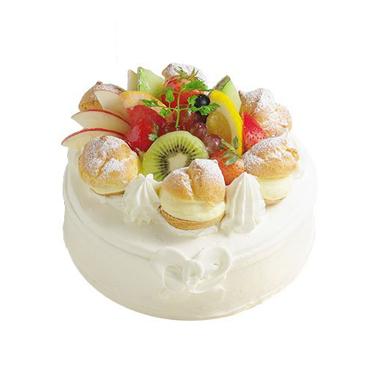 パティスリーアン【シュークリームとフルーツのケーキ】