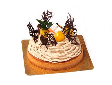 西洋菓子カトルフィユ【モンブランタルト】