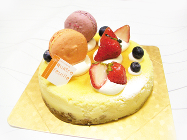 西洋菓子カトルフィユ【ベイクドチーズ】