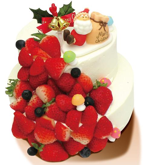 綾南自然菓子 Showado【いちごのクリスマスツリー】