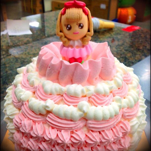 パティスリー ソレイユブラン【お姫様ケーキ】